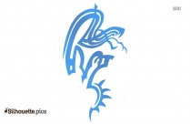 Phoenix Tattoo Silhouette Picture, Clipart