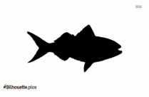 Sailfish Silhouette Drawing