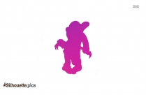 Running Silhouette Vector Transparent