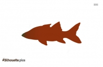 Muskellunge Silhouette Image, Vector
