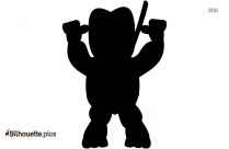 Bull Cartoon Clipart Silhouette