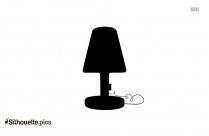 Mushroom Shape Salt Lamp Silhouette