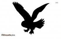 Snowy Owl Design Silhouette