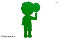 People Playing Soccer Silhouette Illustration
