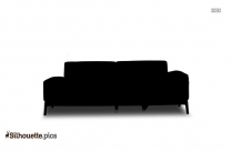 Sofa Silhouette Drawing