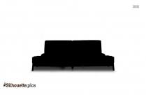 Corner Sofa Silhouette Illustration