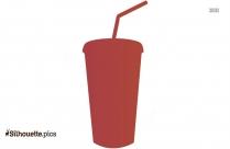 Soft Drink Silhouette Clip Art
