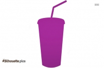 Fruit Juice Glass Silhouette