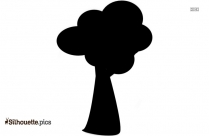 Free Apple Tree Art Silhouette