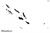 Slovenia Map Silhouette Art