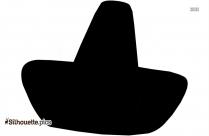 Sombrero Hat Symbol Silhouette