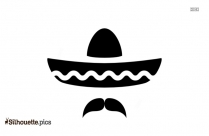 Sombrero Hat Silhouette Icon