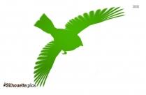 Barn Swallow Flying Silhouette