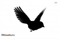 Songbird Clipart Silhouette    Songbird Sparrow Silhouette