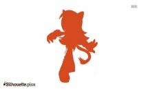 Blaze The Cat Silhouette