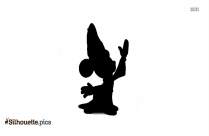 Mickey Mouse King Silhouette Clip Art