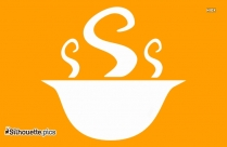 Hot Chow Mein Icon Clipart Silhouette