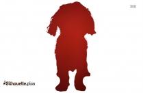 Pomeranian Dog Silhouette Image