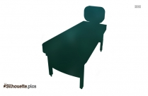 Wooden Table Silhouette Image