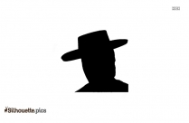 Cartoon Hat Silhouette
