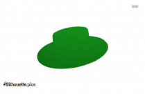 Spain Sombrero Silhouette Vector