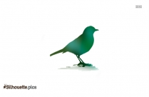 Twitter Birdie Silhouette