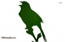 Sparrow Silhouette Free Vector Art
