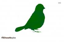 Bird Sitting Clipart Silhouette