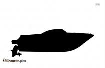 Row Boat Silhouette Image And Vector