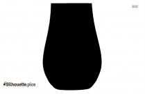 Whisky Glass Silhouette Vector