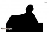 Sphinx Silhouette Black And White
