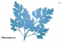 Leaf Heart Clipart Silhouette