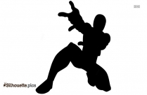 Superhero Silhouette Image And Vector