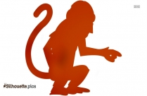 Monkey Clipart Silhouette