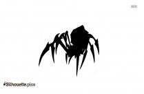 Spider Queen Silhouette Clipart