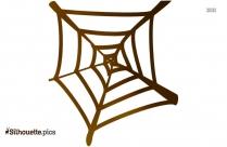 Spider Web Clip Art Silhouette