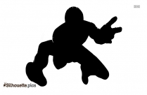Luigi Drawing Silhouette Vector And Graphics