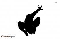 Spiderman Silhouette Clip Art