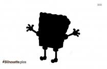 Silhouette Of Harley Quinn Cartoon