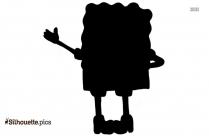 Black Pokemon Giratina Silhouette Image