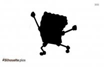 Sponge Bob Square Pants Running Vector