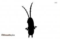 Spongebob Plankton Silhouette Art