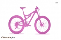 Race Bicycle Silhouette Free Vector Art