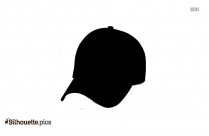 Pork Pie Hat Silhouette Clipart