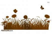 Tree With Leaves Silhouette Image And Vector
