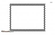 Vector Art Border Silhouette Clip Art, Frames Background