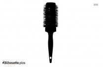 Brush Stroke Silhouette