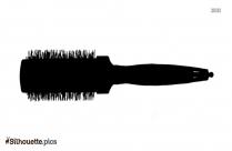 Square Brush Silhouette Picture