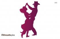 Square Dance Clipart Silhouette