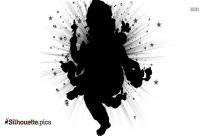 simple vinayagar drawings silhouette